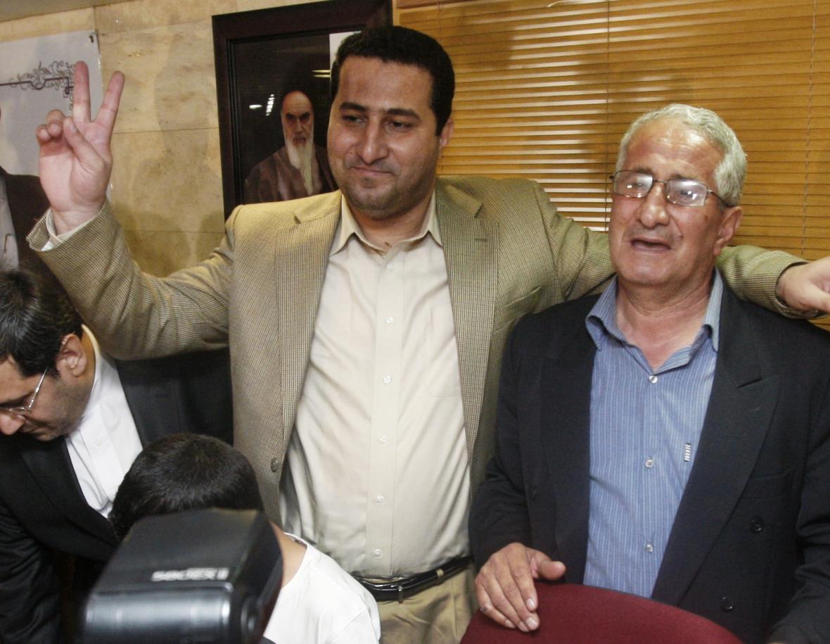 Íránský vědec Šahram Amírí