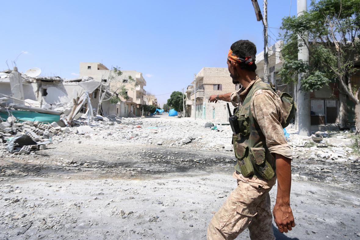 Povstalec v Aleppu