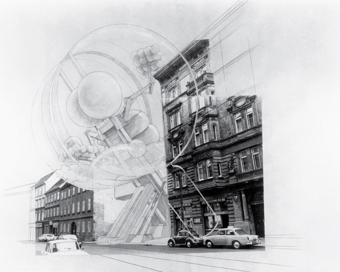 The Cloud (COOP HIMMELB(L)AU, Wolf D. Prix, Helmut Swiczinsky, 1968)