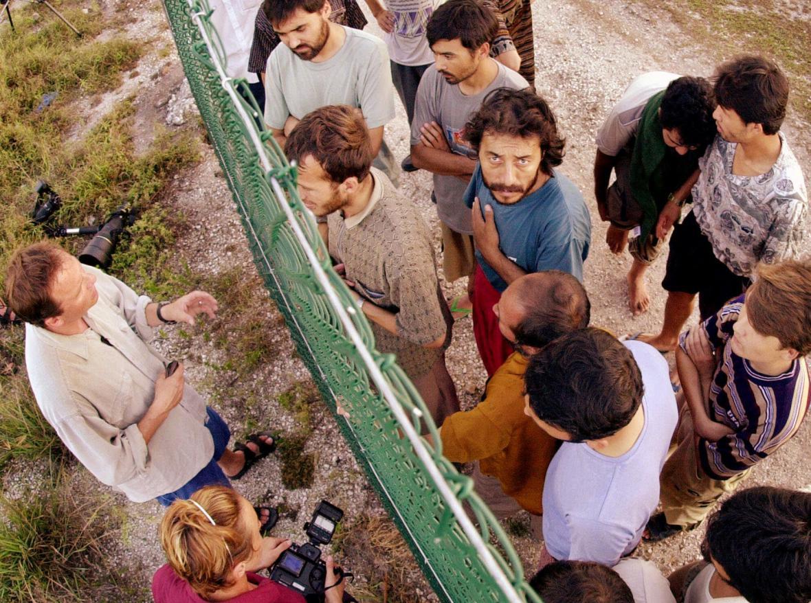 Detenční zařízení na ostrově Nauru