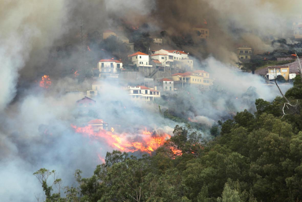 Požár na Madeiře