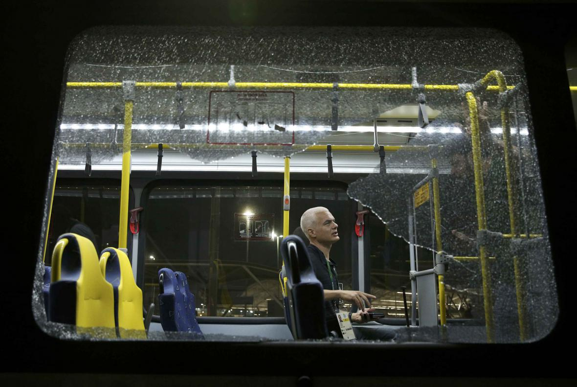 Útok na autobus v Riu
