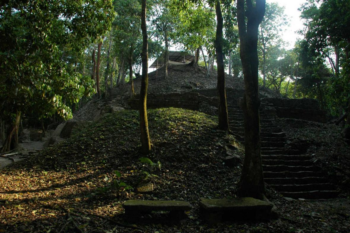 Hrobka v Palenque