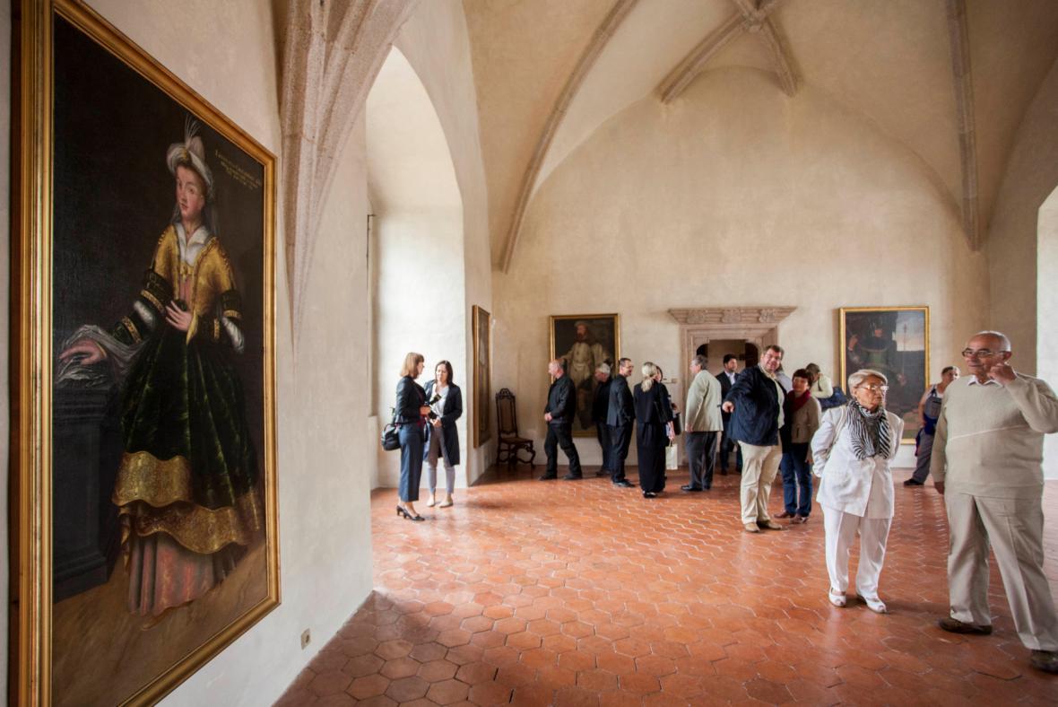 Expozice Následovníci svatého Jiří