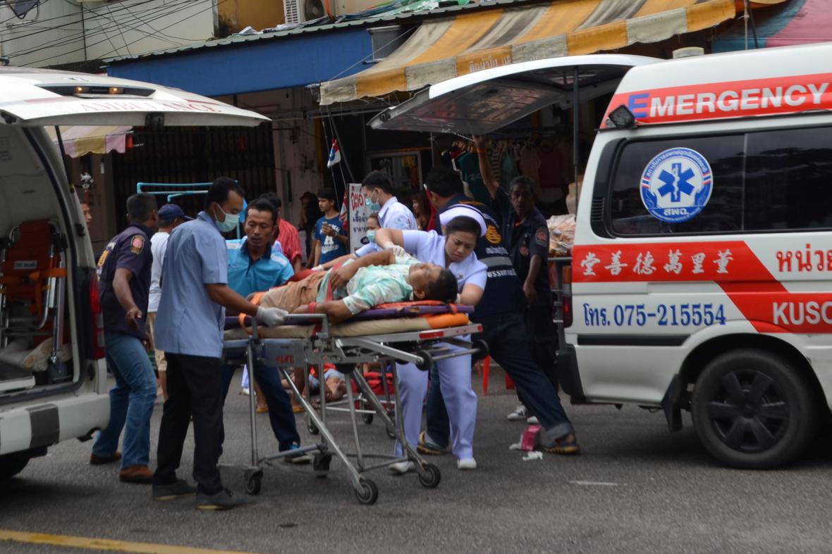 Útoky v Thajsku