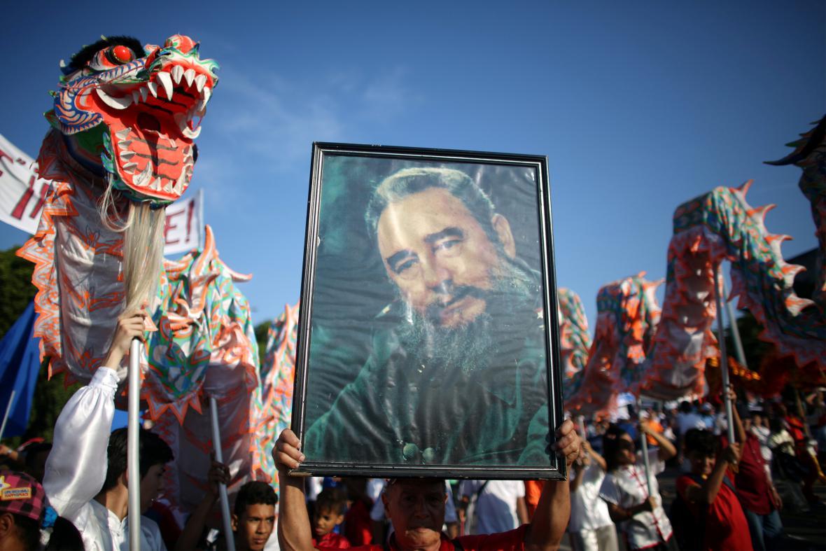 Prvomájové oslavy v Havaně (2016)