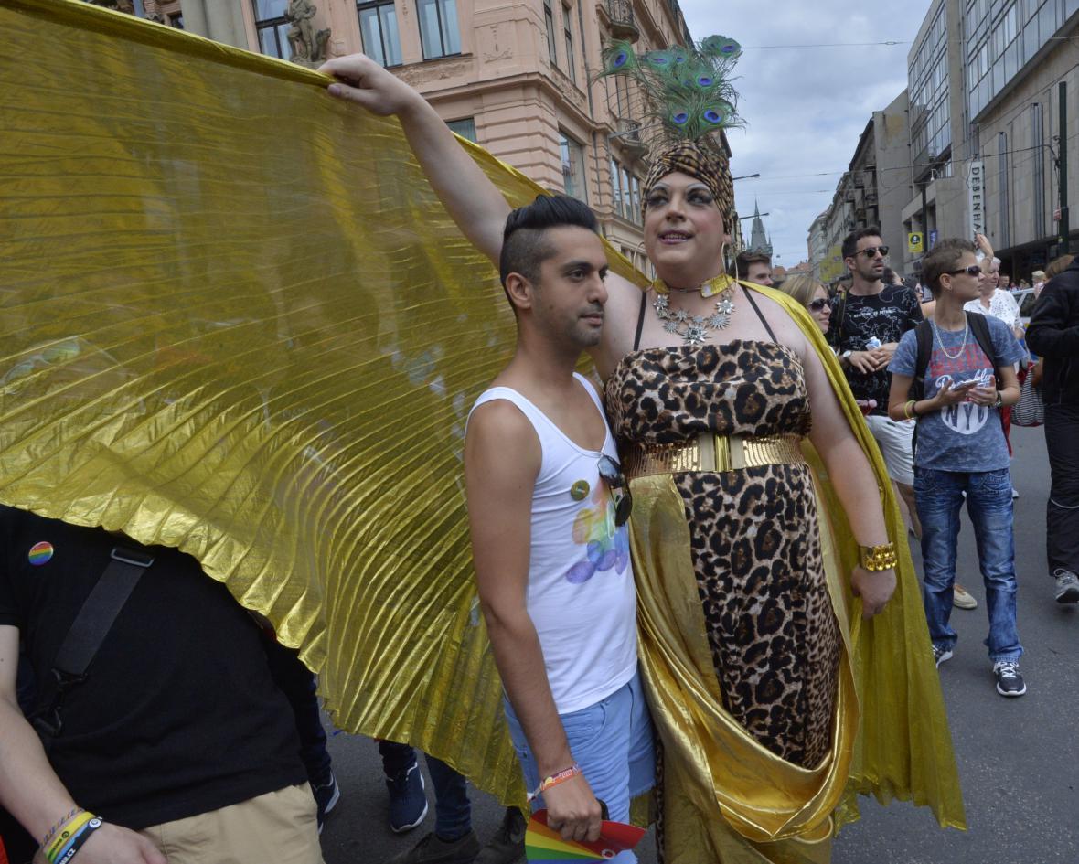 Pochod hrdosti na Prague Pride