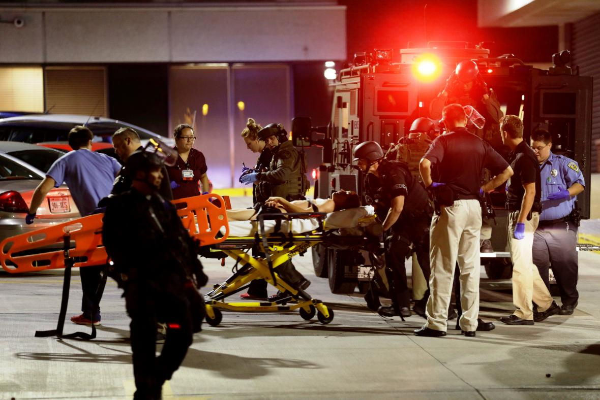 Násilnosti v Milwaukee