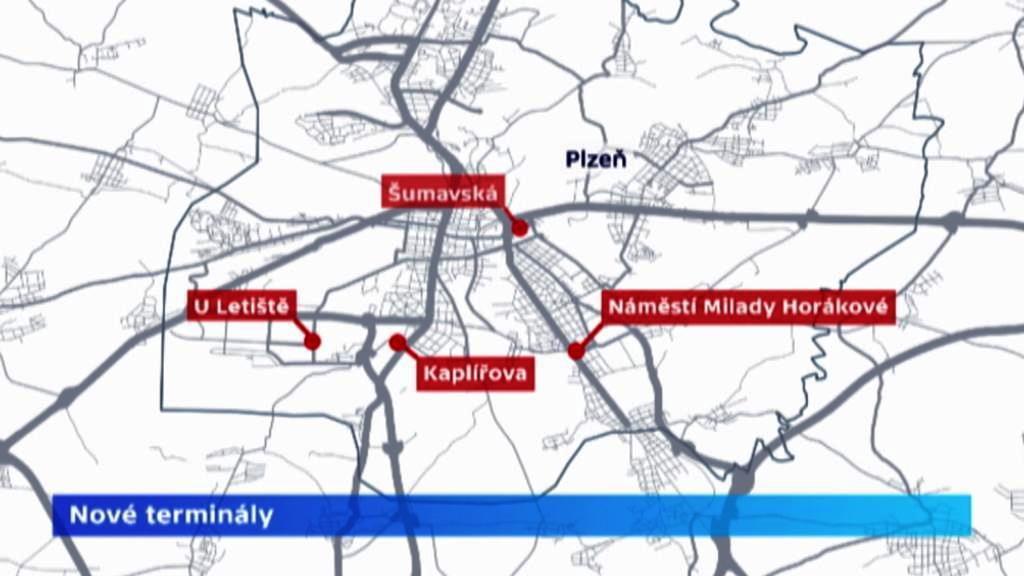 Plzeňské dopravní terminály