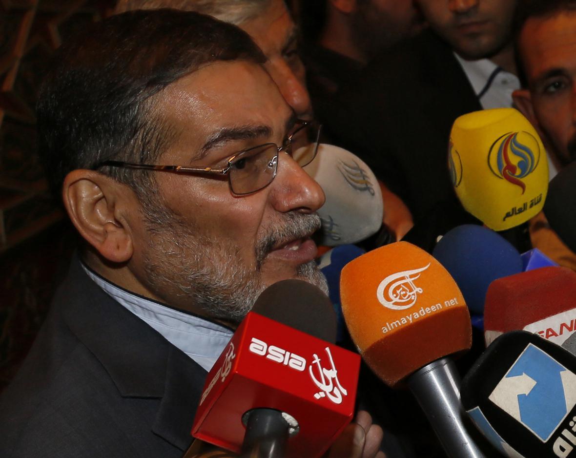 Šéf íránské bezpečnostní rady Ali Šamchani