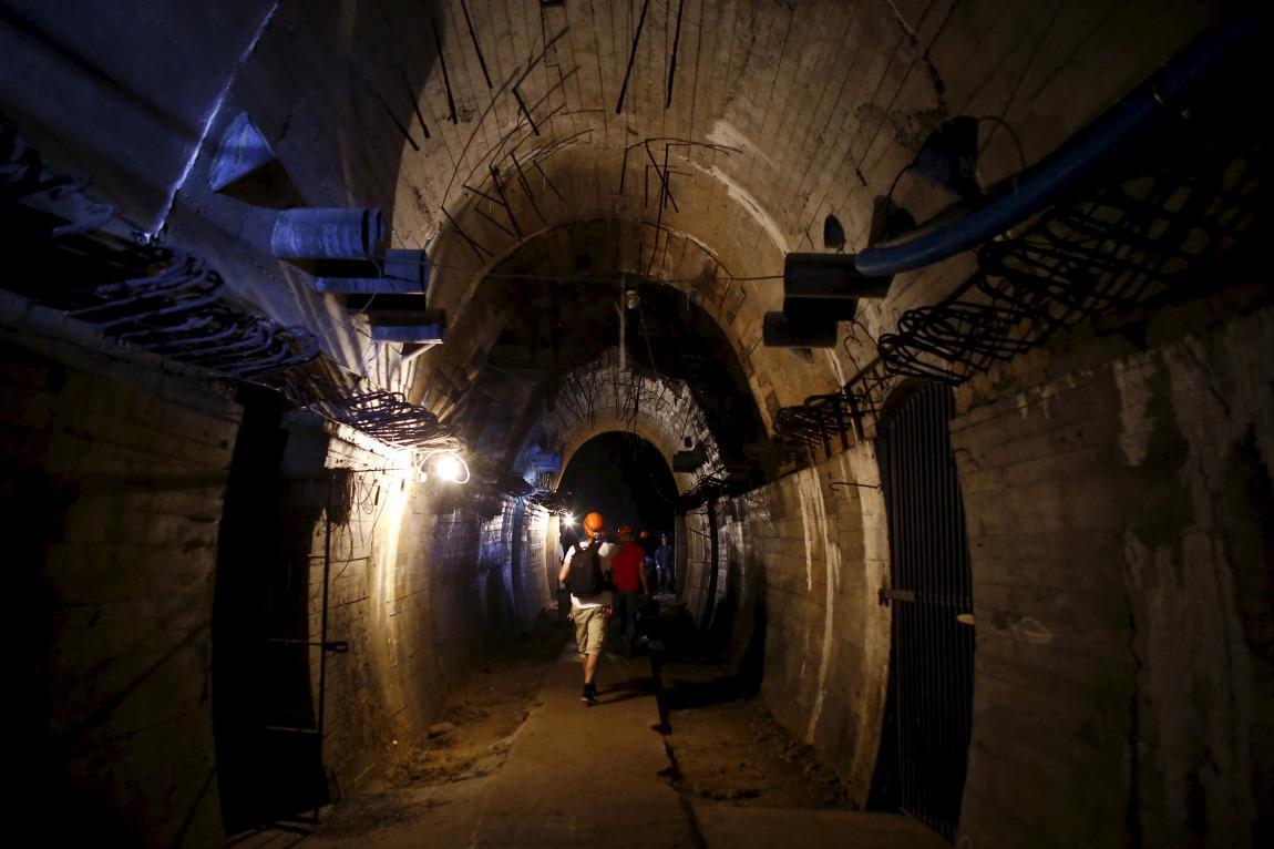 Tunel pod zámkem Ksiaz