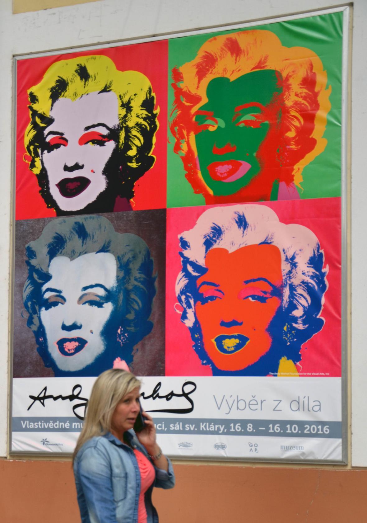 Andy Warhol v Olomouci
