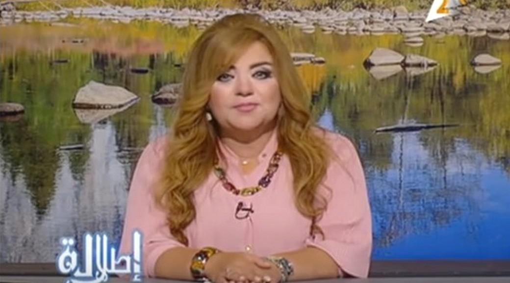 Jedna z odstavených egyptských moderátorek