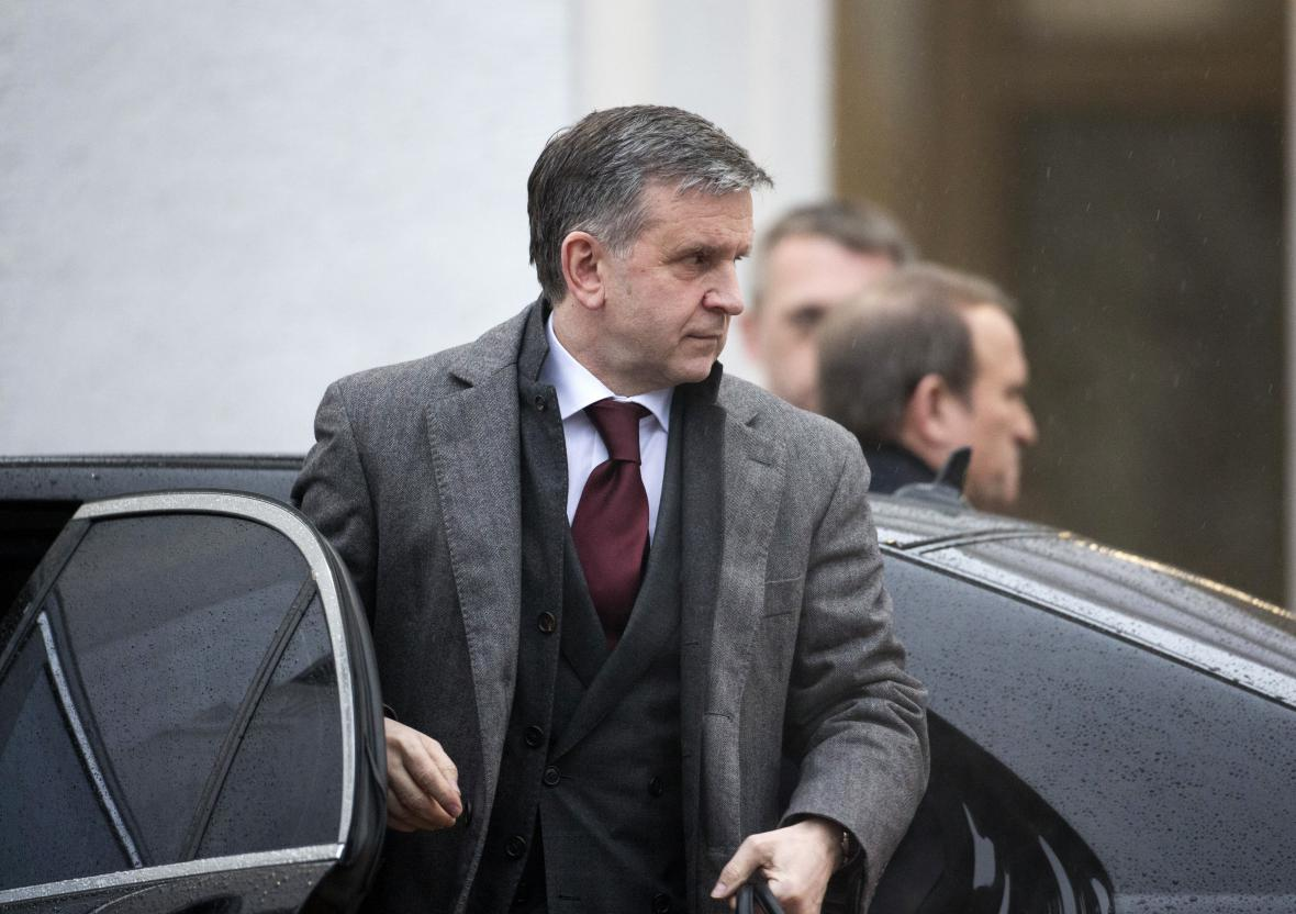 Odvolaný ruský velvyslanec na Ukrajině Michail Zurabov