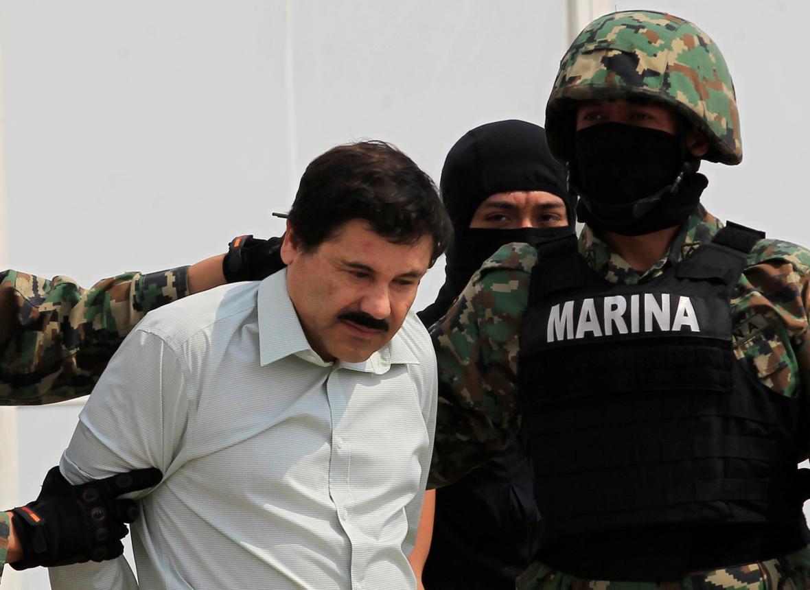 Mexický drogový boss Joaquín Guzmán