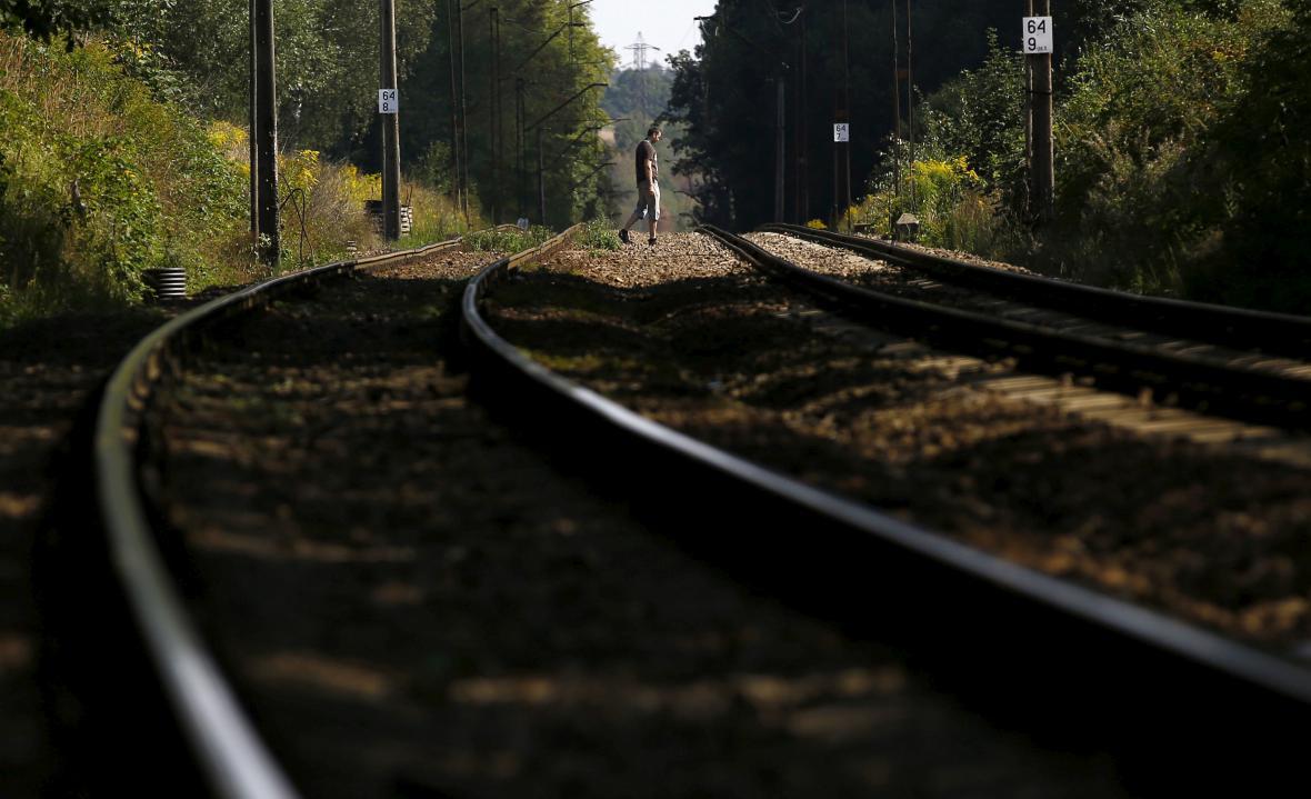 Železniční trať v oblasti, ve které by se podle legendy měl
