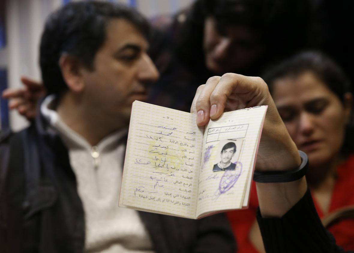 Falšování pasů