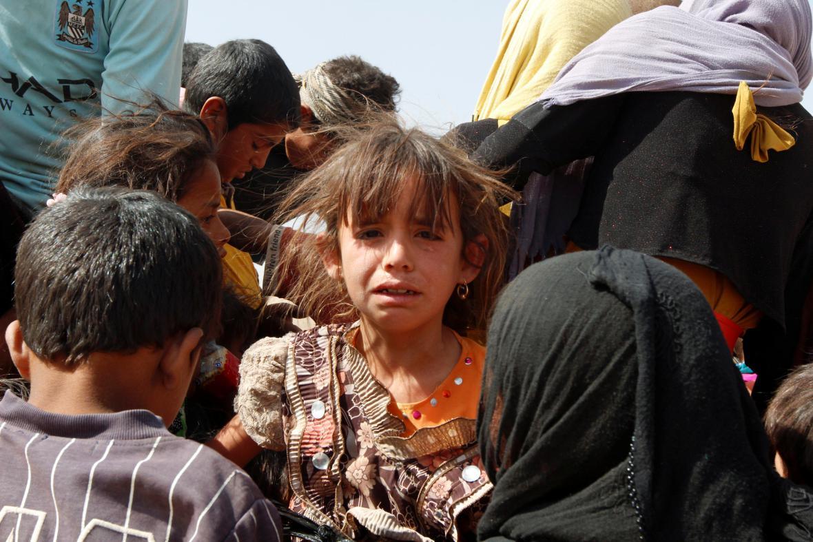 Uprchlíci v Iráku