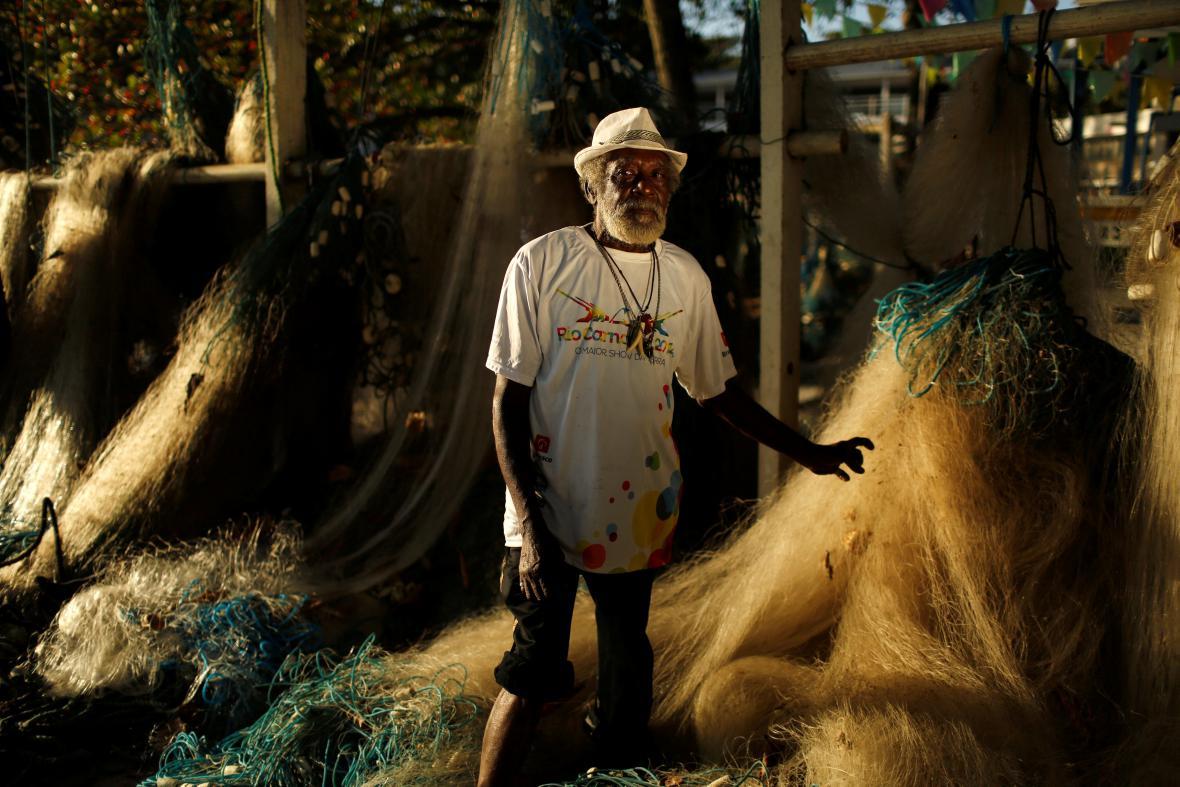 Jose de Jesus Damaceno, rybář, 75 let: