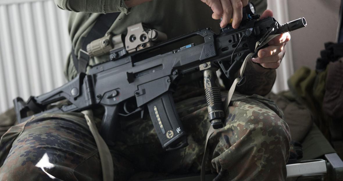 Zbroj německé armády