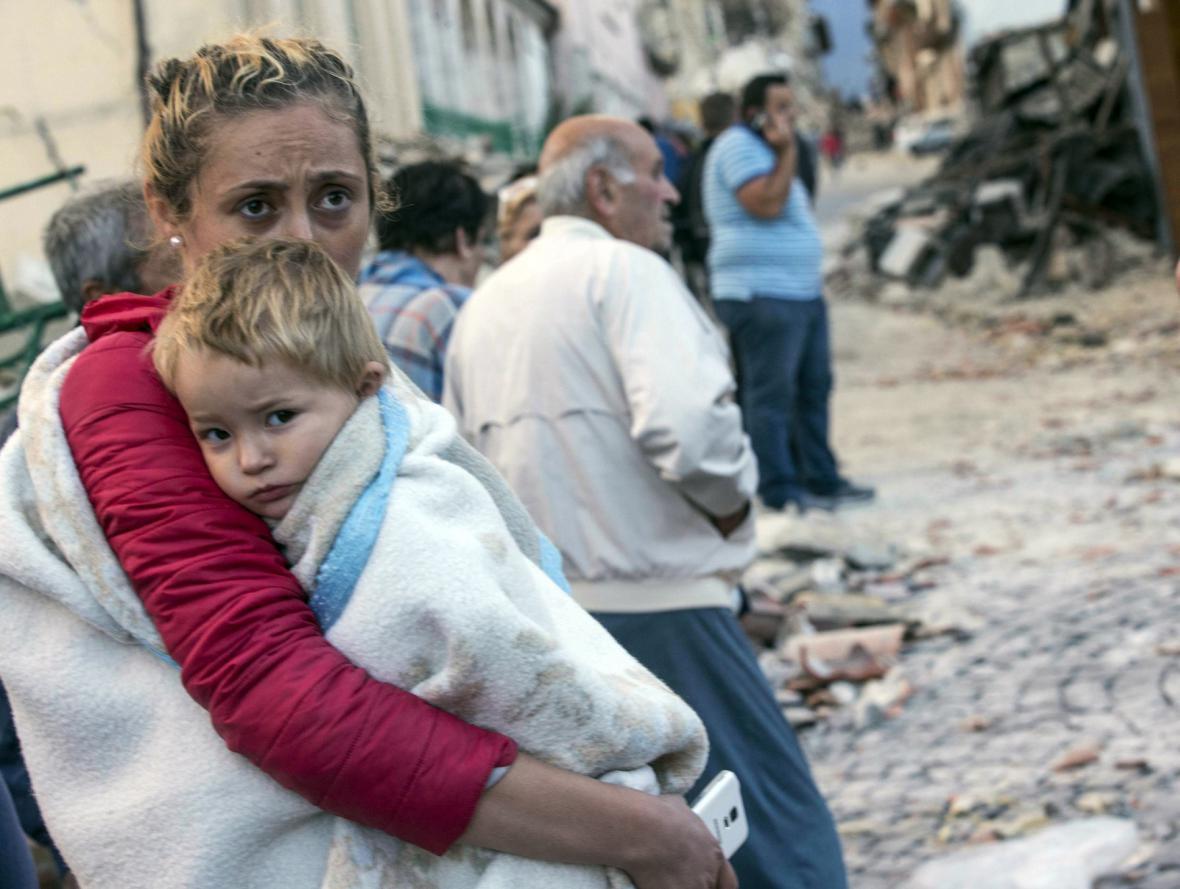Zemětřesení v Amatrice
