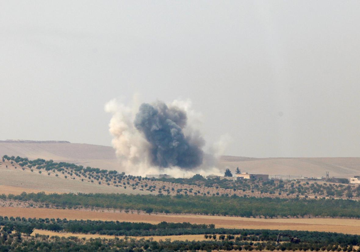 Boje u syrského města Džarabulus