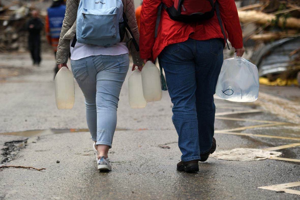Zásoby pitné vody