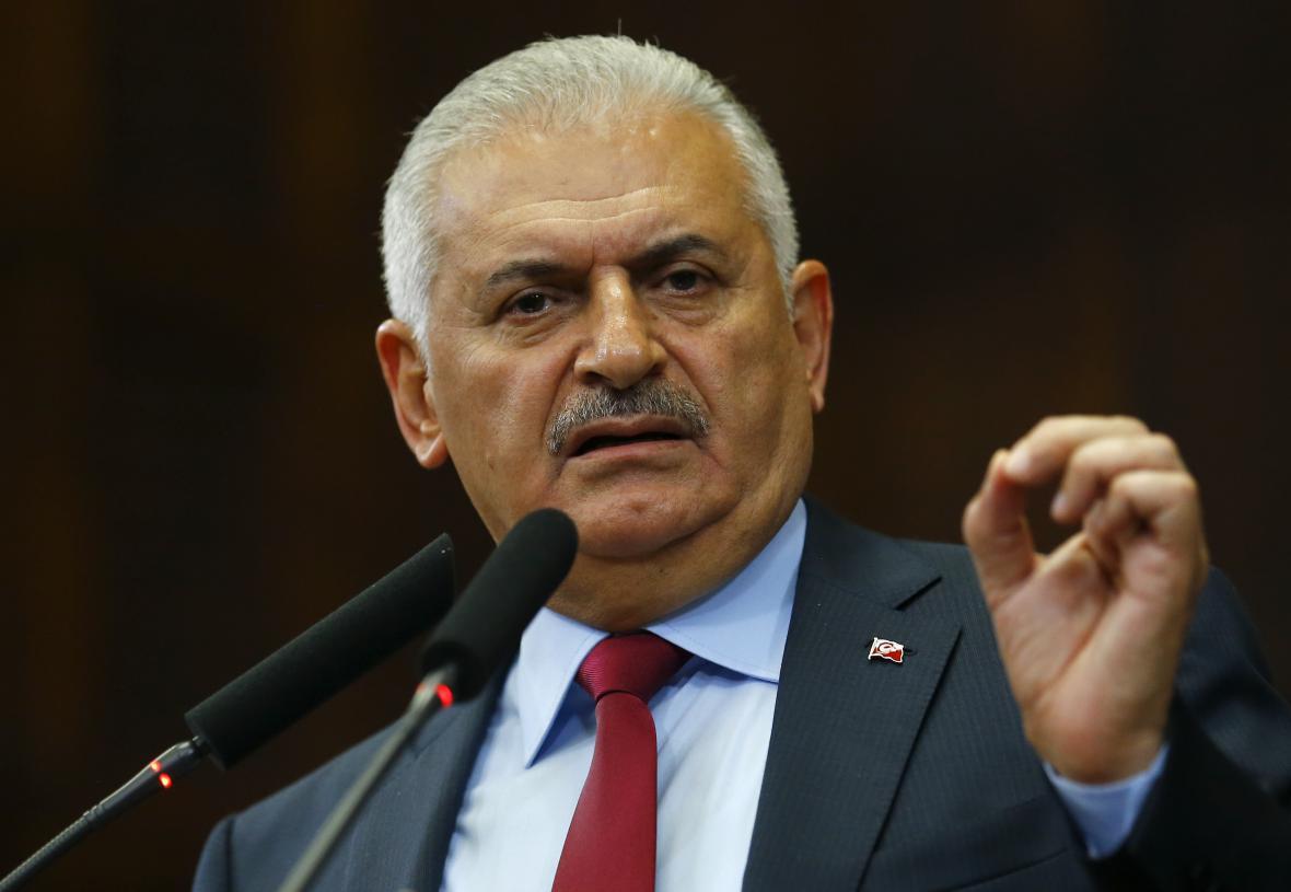 Turecký premiér Binali Jildirim