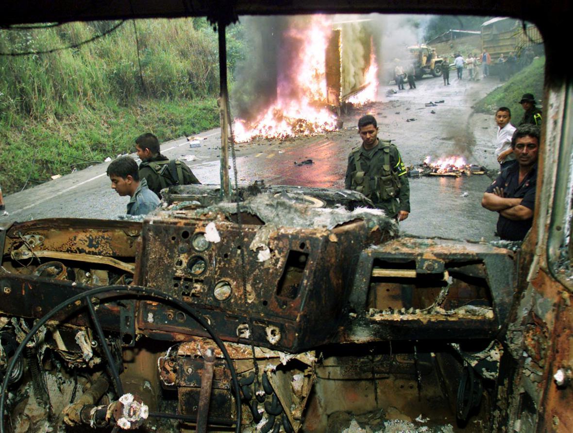 Konflikt v Kolumbii trval přes půl století