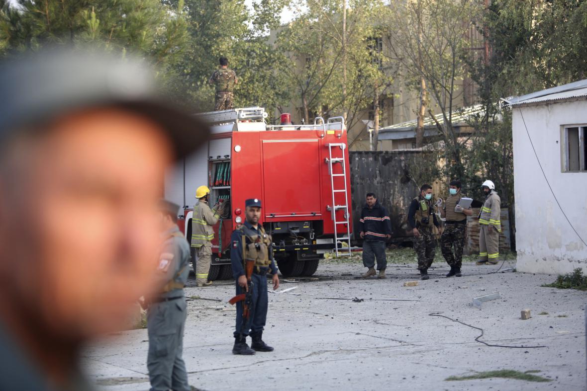 Útok na americkou univerzitu v Kábulu