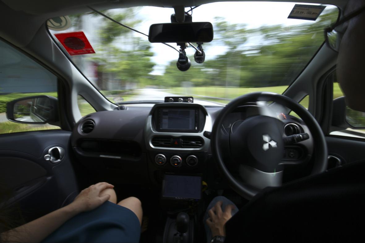 Samořídící taxi