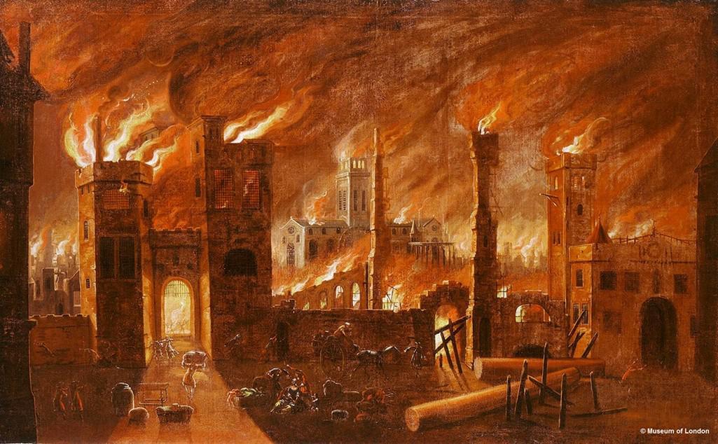 Z výstavy Fire! (Muzeum Londýna)