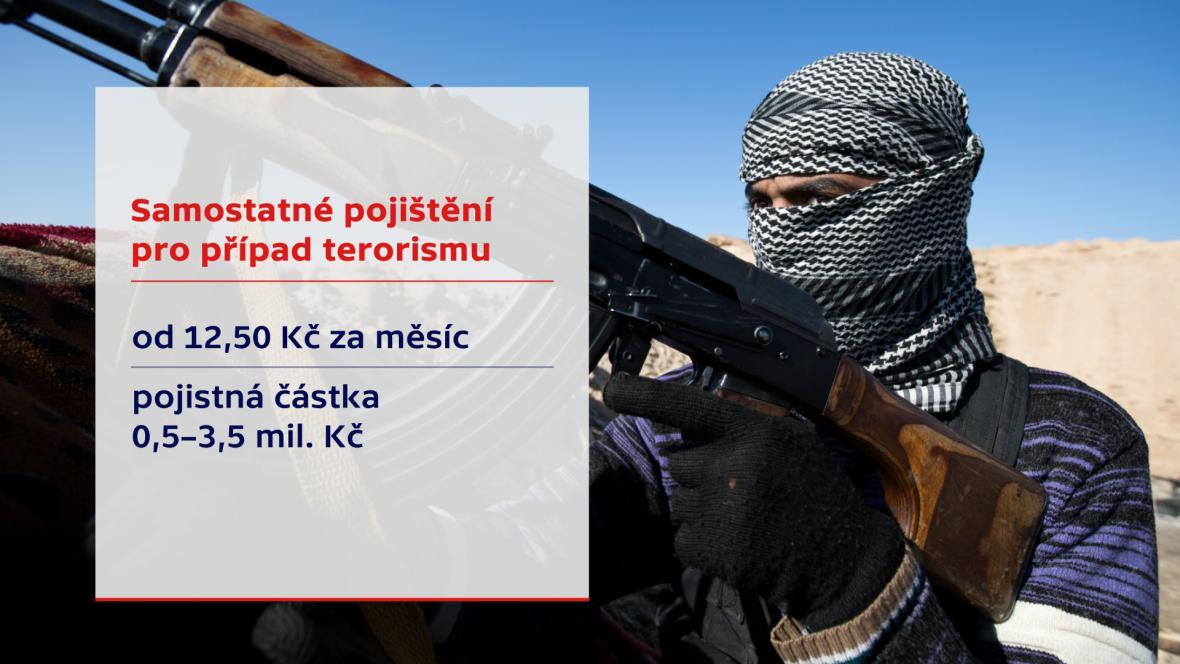 Pojištění v případě terorismu