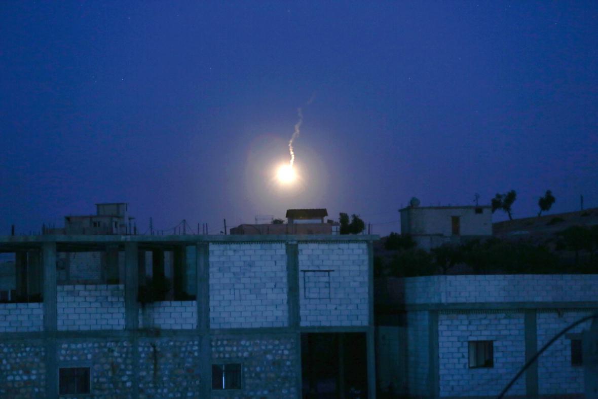 Turecké nálety v Sýrii