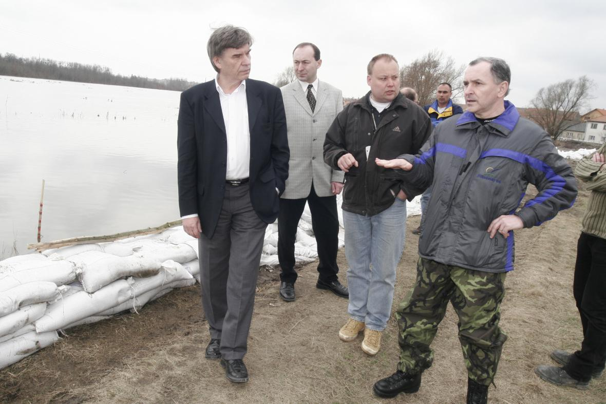 Velká voda ohrožovala obyvatele Břeclavi naposledy v roce 2006