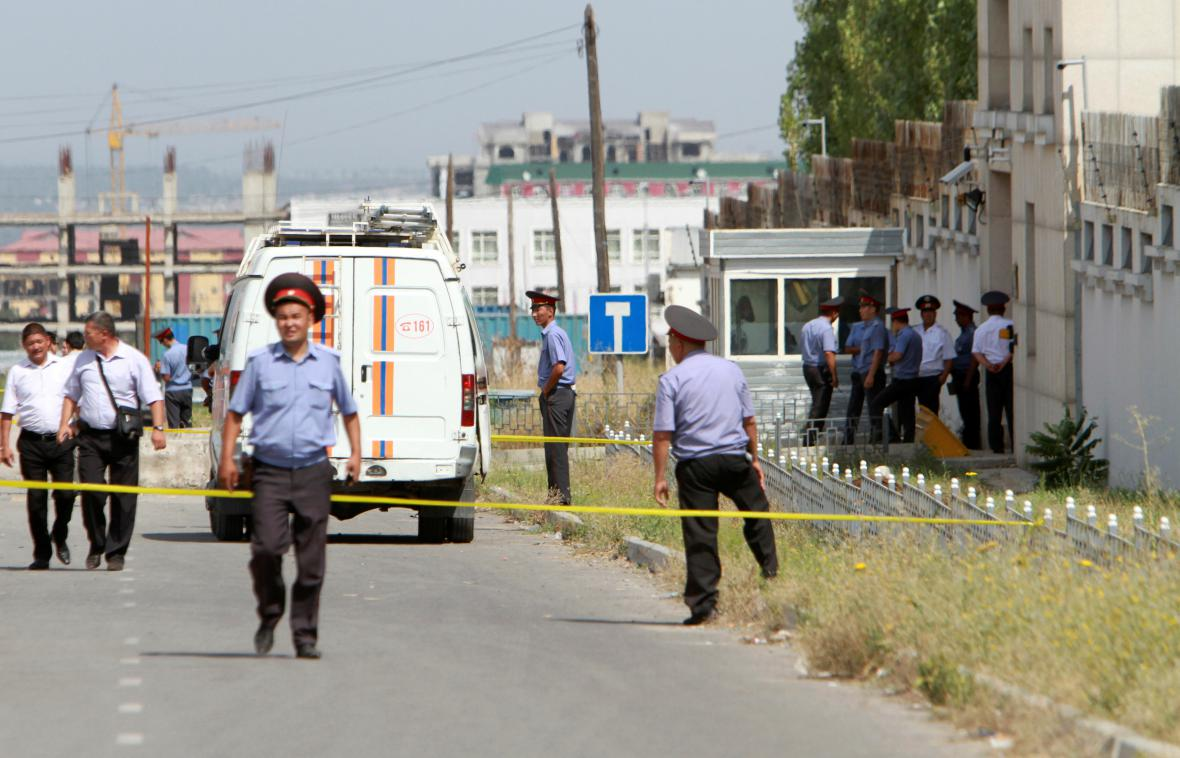 Vyšetřování útoku v čínské ambasády