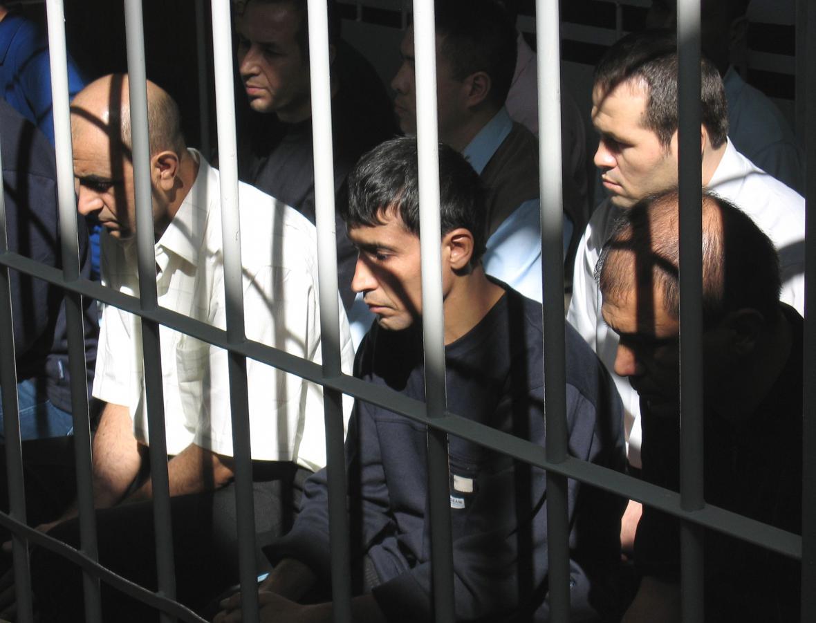 Zatčení po nepokojích v Andižanu z roku 2005