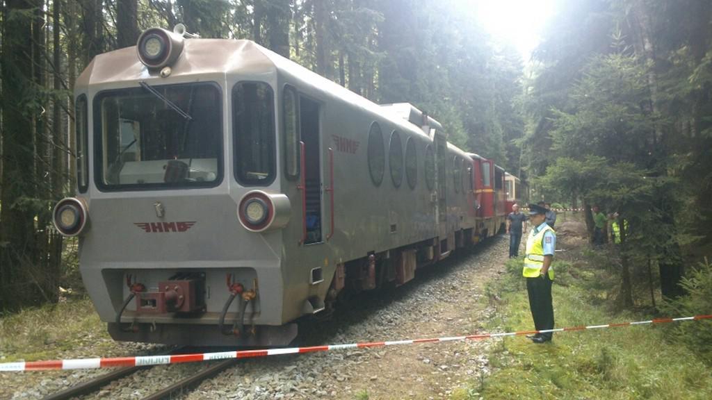 Na Pelhřimovsku se srazily lokální vlaky
