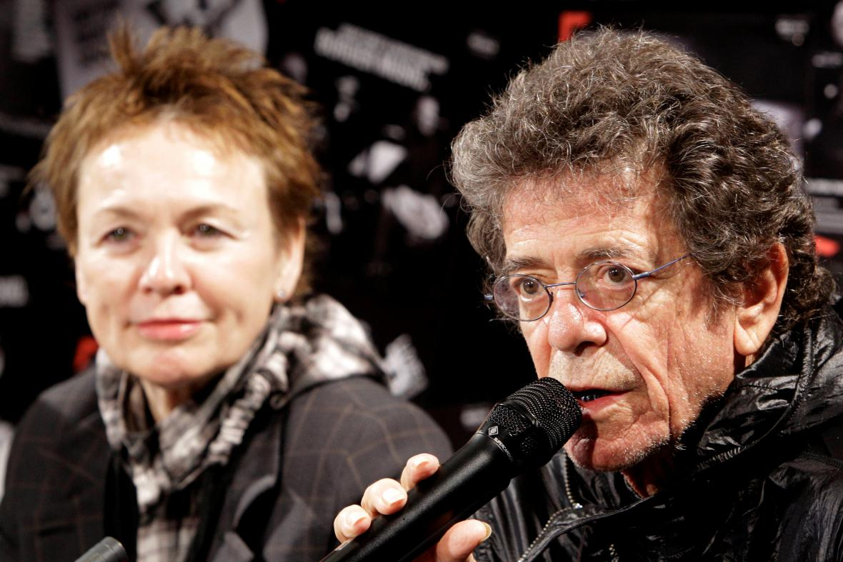 Laurie Andersonová a Lou Reed