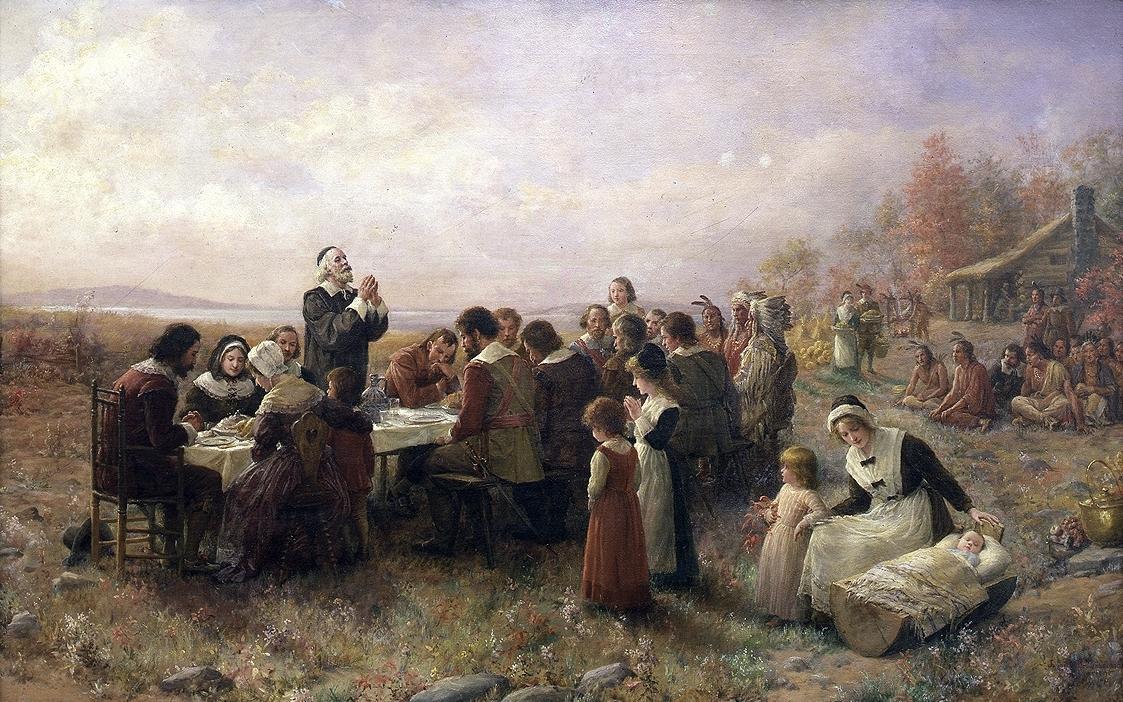 I známý Den díkuvzdání slaví Američané díky osudům prvních přistěhovalců
