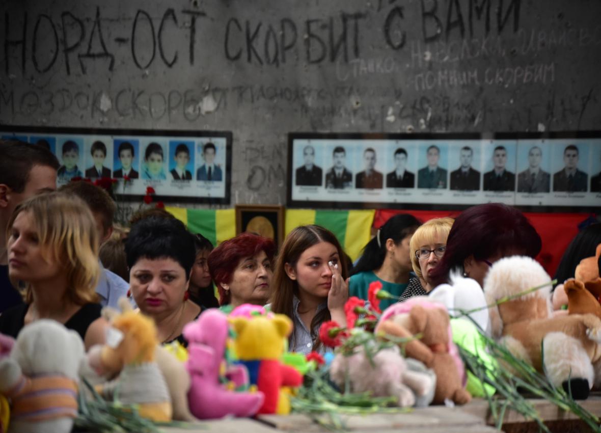 Vzpomínkové akce v Beslanu
