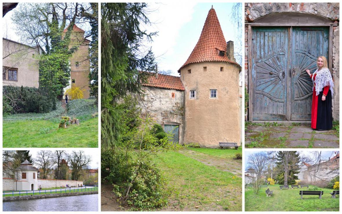 Biskupská zahrada v Českých Budějovicích