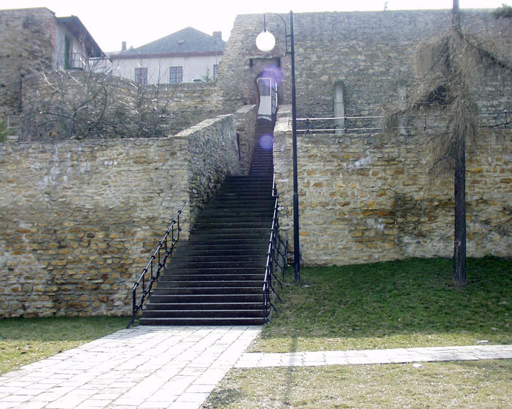Městské hradby v Přerově