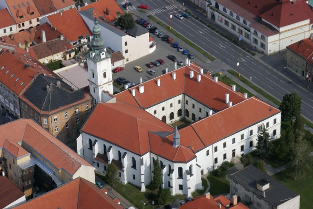 Bývalý františkánský klášter v Uherském Hradišti
