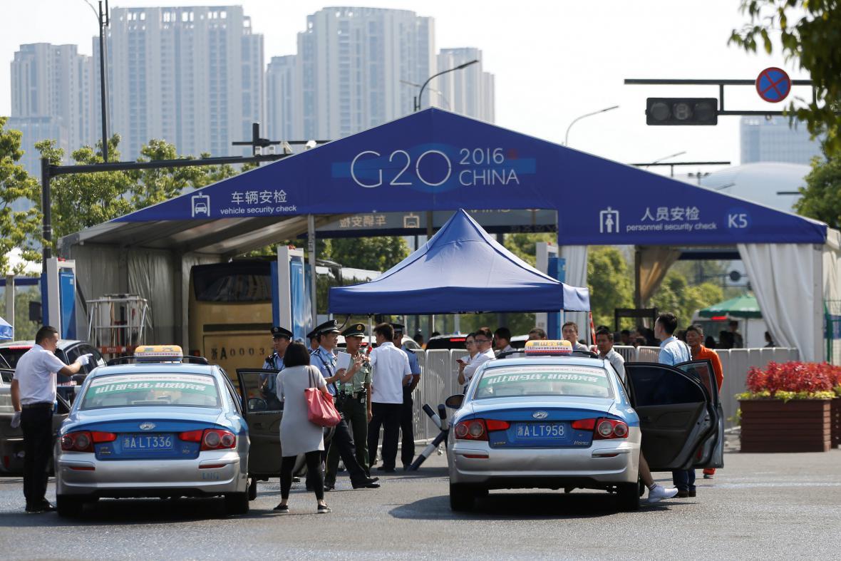 Přípravy na summit G20 v Číně