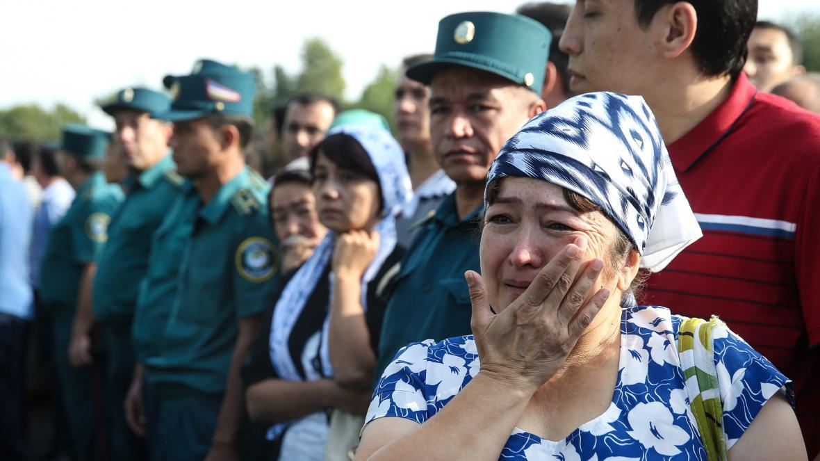 Reakce lidí v Uzbekistánu na úmrtí Karimova