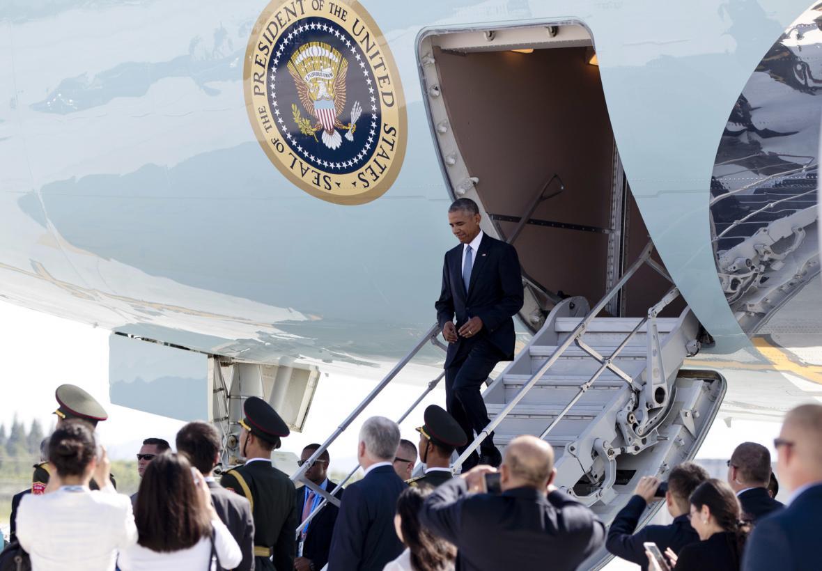 Obama v Číně