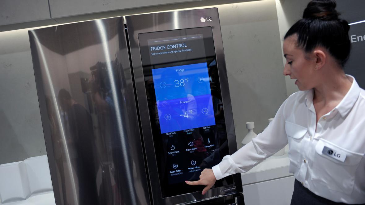 Chytrá lednička od LG na IFA 2016