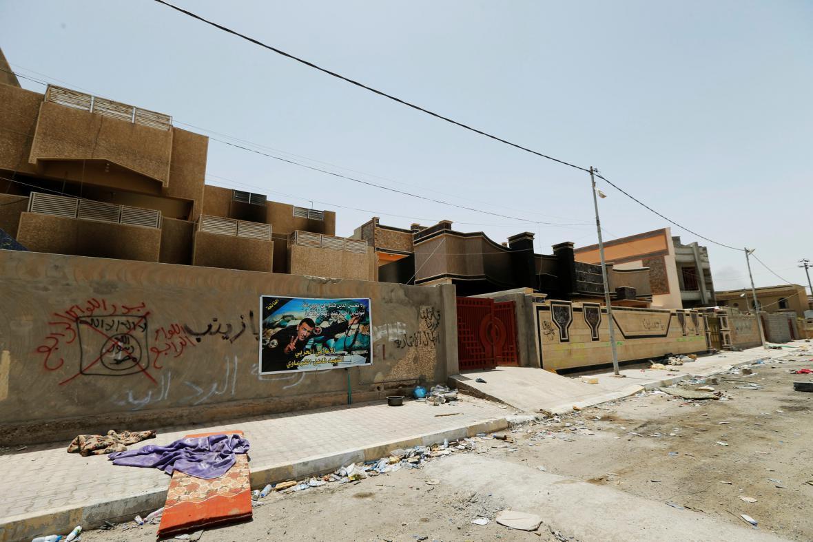 Vězení, které ve Fallúdži využíval Islámský stát