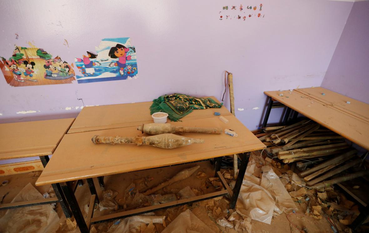 Granáty islámského státu ve škole ve Fallúdži